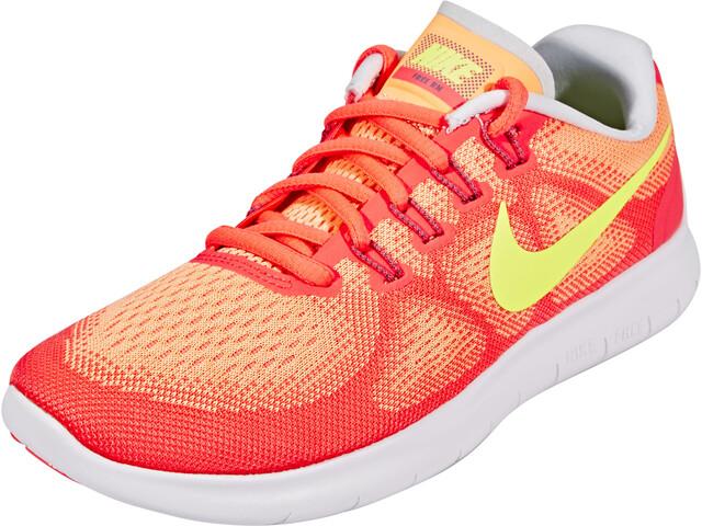Nike Free RN 2 Running Løbesko Damer gul/orange | Running shoes